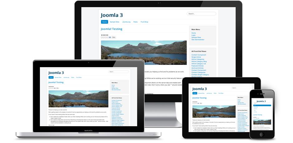 Responsive Joomla 3.0