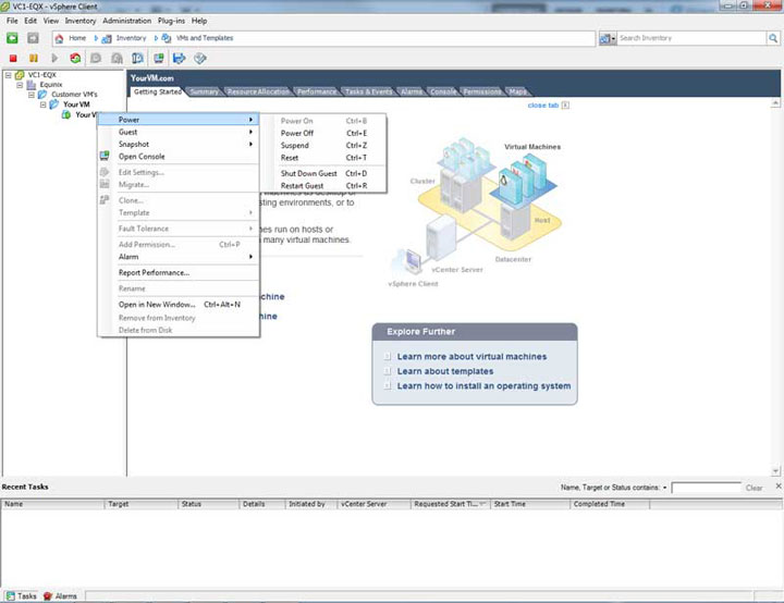 Stop & Start your VDS in VMware vSphere