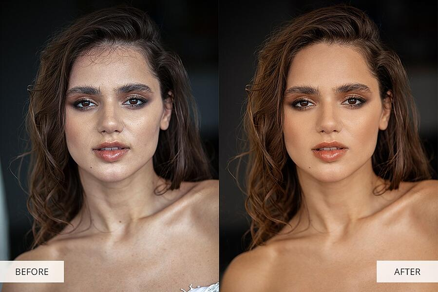 Online Photoshop Editor before and after