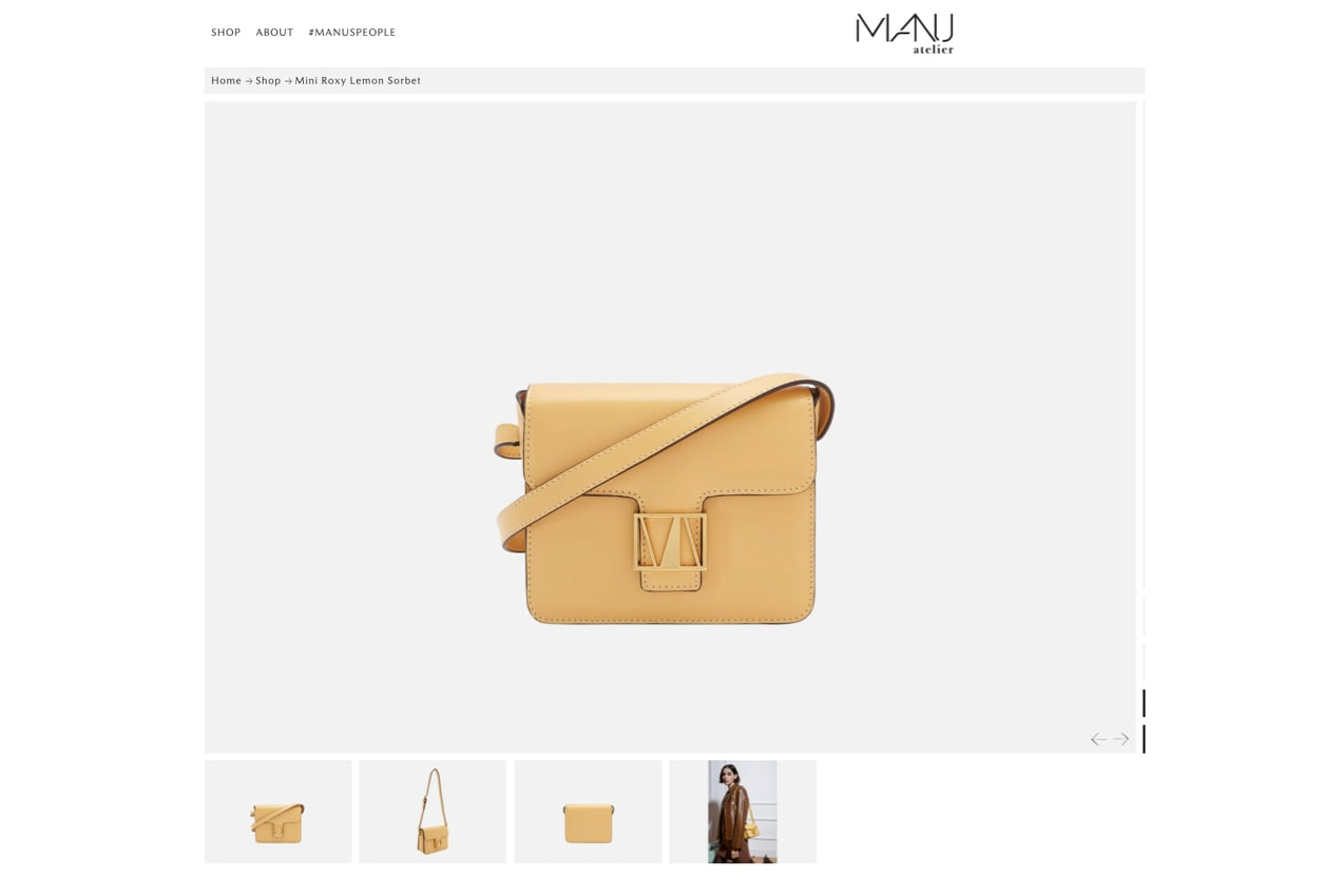 photos of a purse from varying angles