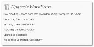 wordpress automatic upgrade timeout