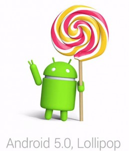 Android lollipop email